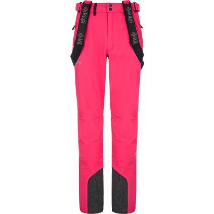 Dámské lyžařské kalhoty KILPI Rhea-w růžová