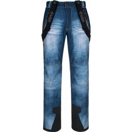 Pánské lyžařské kalhoty KILPI Jeanso-m modrá