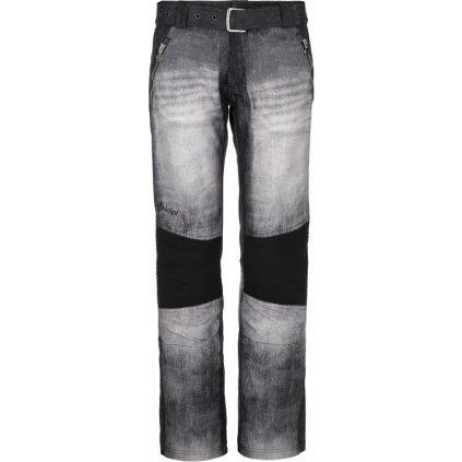 Dámské lyžařské kalhoty KILPI Jeanso-w černá