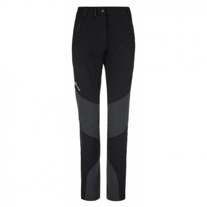 Dámské softshellové kalhoty KILPI Nuuk-w černá