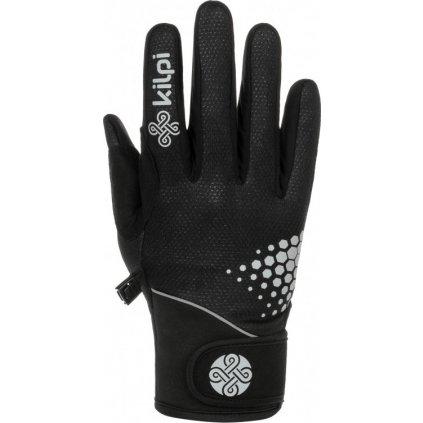 Softshellové rukavice KILPI Nedel-u černá