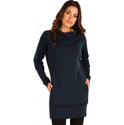 Dámské mikinové šaty LITEX modrá