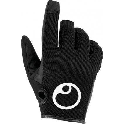 Cyklistické rukavice ERGON HE2 Evo černá