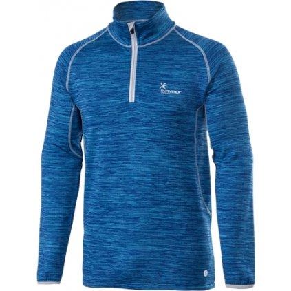 Pánský thermo pulovr KLIMATEX Dagur modrá