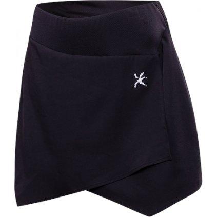 Dámská cyklistická sukně KLIMATEX Retina černá