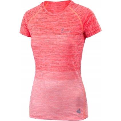 Dámské běžecké triko KLIMATEX Noli růžová