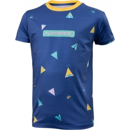 Dětské funkční triko KLIMATEX Elilo modrá