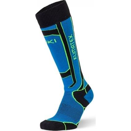 Dětské lyžařské ponožky KLIMATEX Nogy modrá