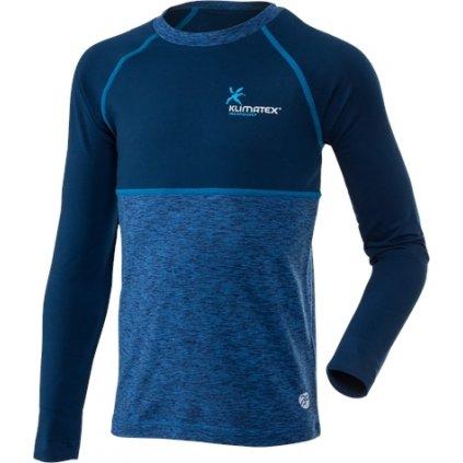 Dětské funkční triko KLIMATEX Willy modrá