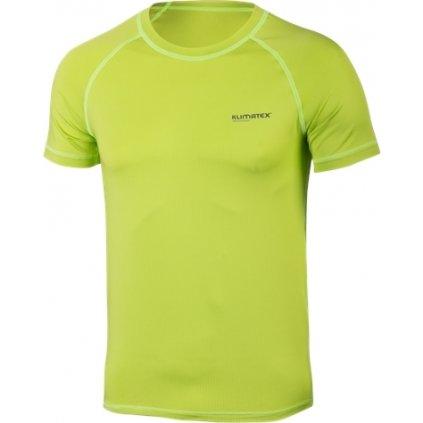 Pánské funkční triko KLIMATEX Brian zelená