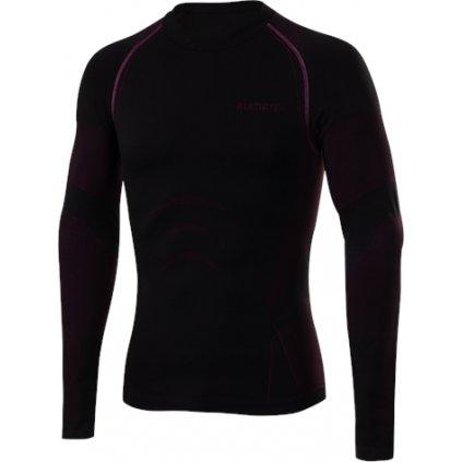 Pánské bezešvé triko KLIMATEX Tas černá