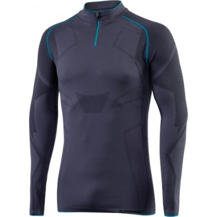 Pánský bezešvý pulovr KLIMATEX Valby antracit