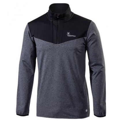Pánský pulovr KLIMATEX Ador antracit