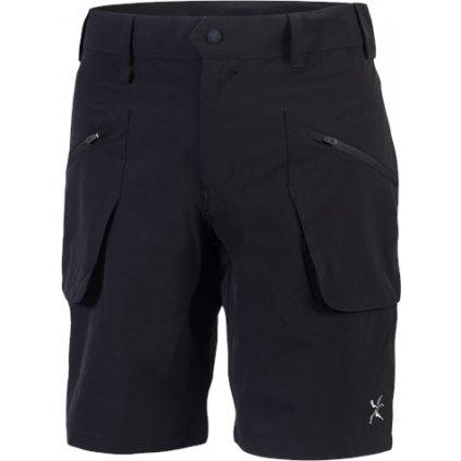 Pánské outdoorové šortky KLIMATEX Borge černá