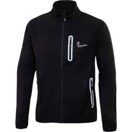 Pánská softshellová bunda KLIMATEX Robe černá