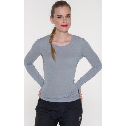 Dámské tričko s dlouhým rukávem SAM 73 šedá světlá