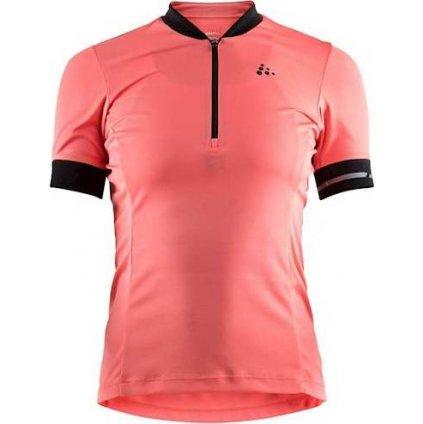 Dámský cyklistický dres CRAFT Point růžová