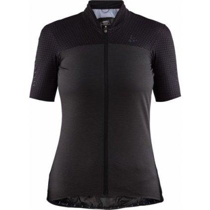 Dámský cyklistický dres CRAFT Hale Glow černá