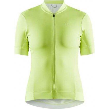 Dámský cyklistický dres CRAFT Essence žlutá