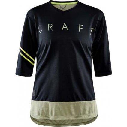 Dámský cyklistický dres CRAFT Core Offroad Xt černá