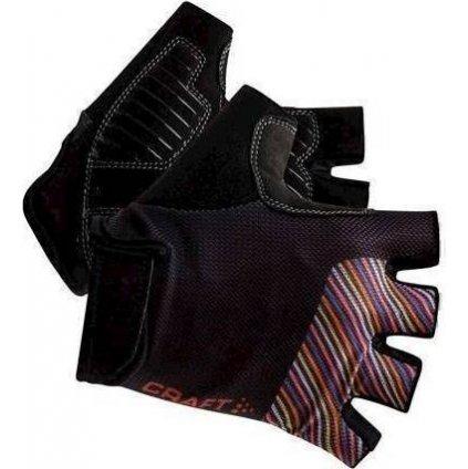 Cyklistické rukavice CRAFT Go tmavě šedá