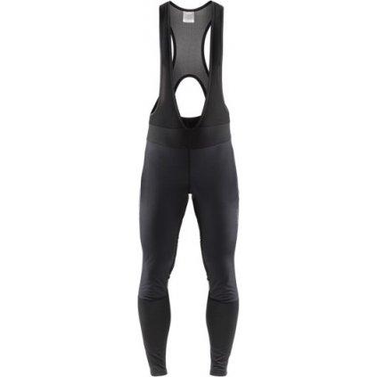Pánské cyklistické kalhoty CRAFT Ideal Pro Wind Bib černá