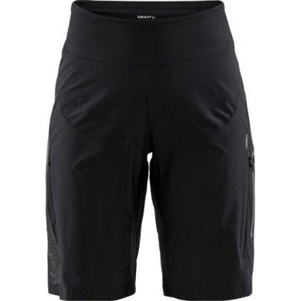 Dámské cyklistické šortky CRAFT Hale Xt Shorts černá