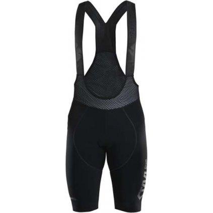 Pánské cyklistické kraťasy CRAFT Ctm Thermal Bib Shorts černá