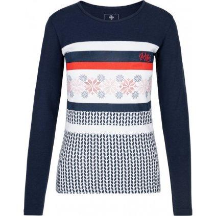 Dámské tričko KILPI Juls-w tmavě modrá