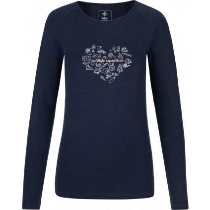 Dámské tričko KILPI Ina-w tmavě modrá