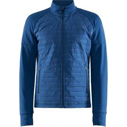 Pánská běžecká bunda CRAFT SubZ tmavě modrá