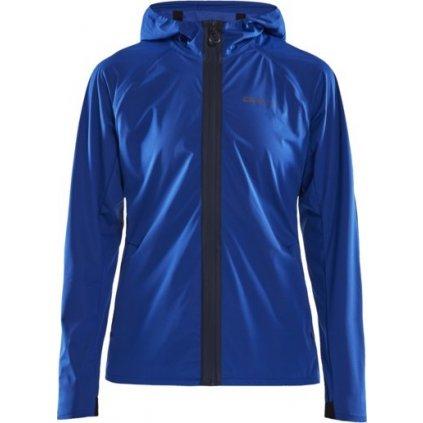 Dámská běžecká bunda CRAFT Hydro modrá