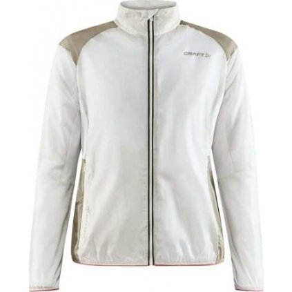 Dámská běžecká bunda CRAFT Pro Hypervent bílá