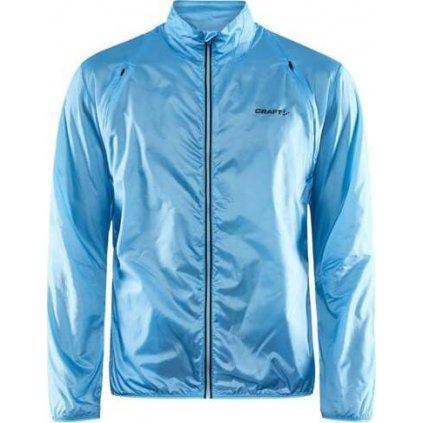 Pánská běžecká bunda CRAFT Pro Hypervent světle modrá