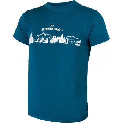 Dětské tričko SENSOR Coolmax fresh pt camp modrá