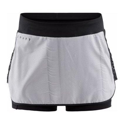 Dámská běžecká sukně CRAFT Charge bílá