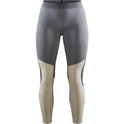 Dámské běžecké kalhoty CRAFT Vent šedá