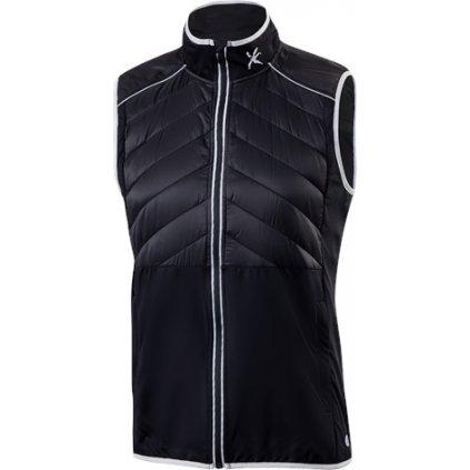 Pánská hybridní vesta KLIMATEX Levin černá