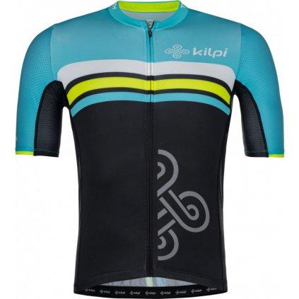 Pánský cyklo dres KILPI Corridor-m světle modrá