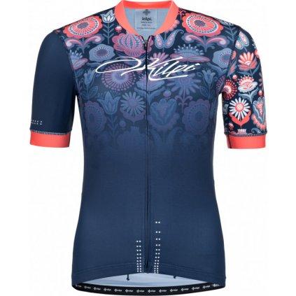 Dámský cyklo dres KILPI Oreti-w tmavě modrá
