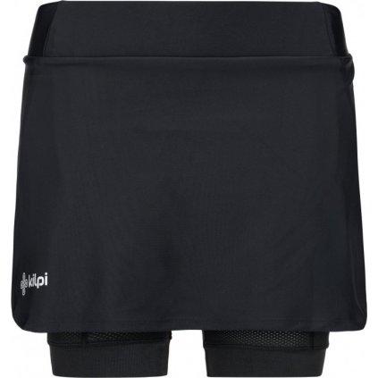 Dámská cyklo sukně s šortkami KILPI Jola-w černá