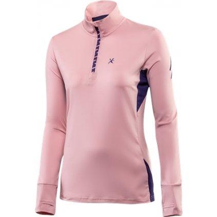 Dámský pulovr KLIMATEX Sunne růžová