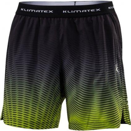 Pánské běžecké šortky KLIMATEX Beniro černá