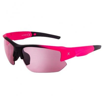 Sluneční brýle KLIMATEX Axil fuchsiová