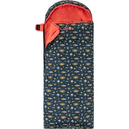 Dětský spací pytel dekový LOAP Fiemme Cosmo modrá