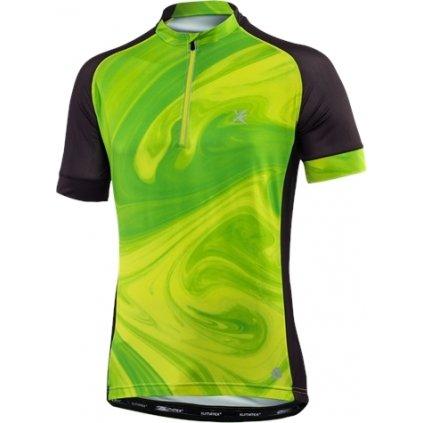 Pánský cyklodres KLIMATEX Choreb zelená