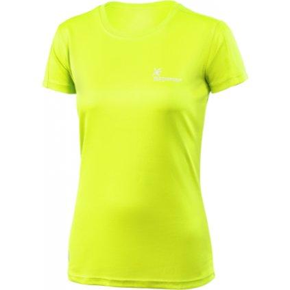 Dámské funkční triko KLIMATEX Chloe sv. zelená
