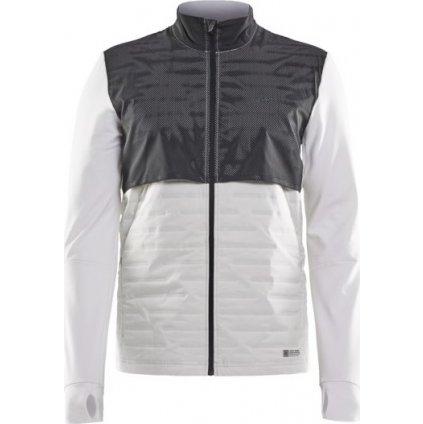 Pánská běžecká bunda CRAFT Lumen SubZ bílá