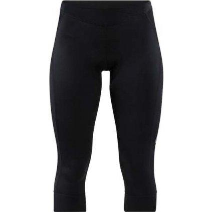 Dámské 3/4 cyklistické kalhoty CRAFT Essence Knickers černá