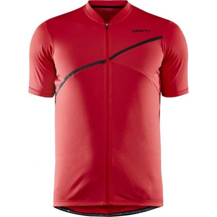 Pánský cyklistický dres CRAFT Core Endur Logo červená
